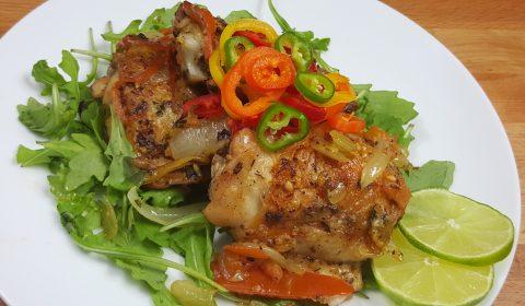 African Grilled Chicken
